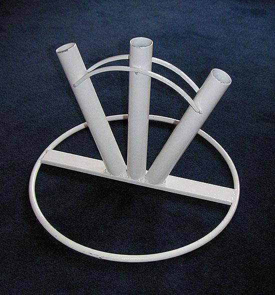 Fanställ med tre armar