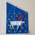 Västerbotten flagga